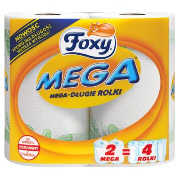Ręcznik papierowy - Foxy. Wydajny, miękki i wytrzymały ręcznik do kuchni i łazienki.