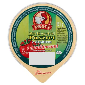 Profi - Pasztet Wielkopolski z drobiem i pomidorami. Dodatek, który urozmaici śniadanie.
