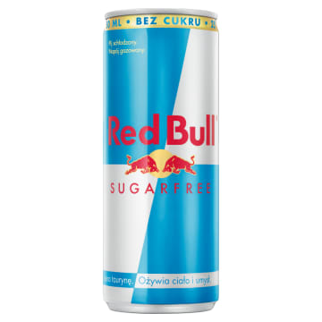 Napój energetyczny Sugar Free 250ml - Red Bull
