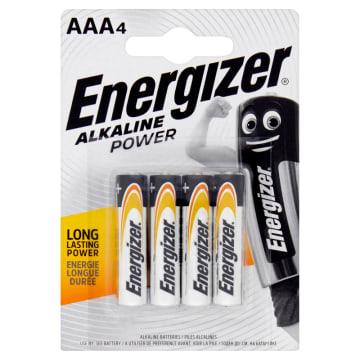 Baterie alkaliczne AAA-LR03 - Energizer. Do codziennego użytku we wszelkich typach urządzeń.