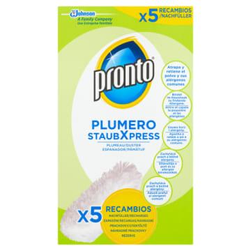 PRONTO Duster - zapasy do szczotki, 5 szt. Sposób na kurz bez stosowania środków chemicznych.
