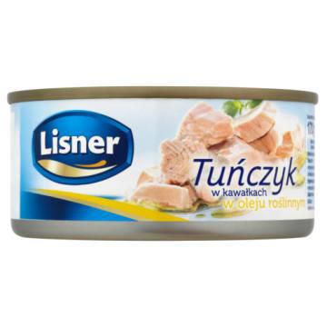 Tuńczyk w kawałkach w oleju - Lisner