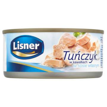 Tuńczyk w kawałkach w sosie własnym - Lisner