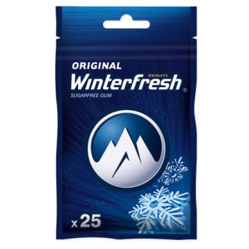 Guma do żucia - Winterfresh. Torebki z nowymi, lubianymi przez konsumentów gumami.