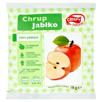 Suszone chipsy z jabłka - Crispy Natural