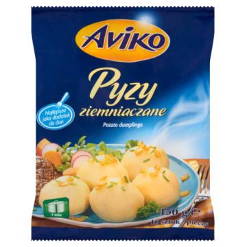 Mrożone pyzy ziemniaczane - Aviko. Szybki sposób na smaczny obiad.
