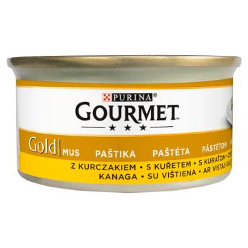 Pokarm dla kotów Gourmet Gold dostarcza pupilom zbilansowanych wartości odżywczych.