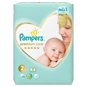 Ulepszone pieluchy Pampers –  rozmiar mini. Wygodne i super chłonne, chronią skórę malucha.