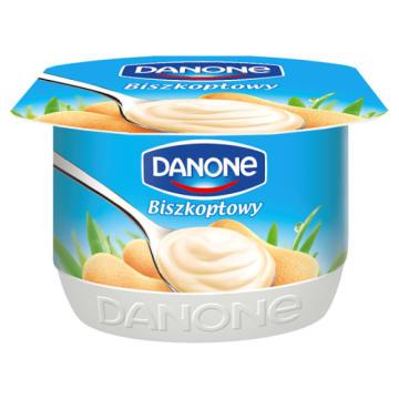 Biszkoptowy jogurt -Danone. Źródło pełnowartościowego białka i aminokwasów.