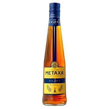 Brandy – Metaxa to wyjątkowy alkohol uzyskiwany w dwuetapowej produkcji. W smaku lekko słodki.