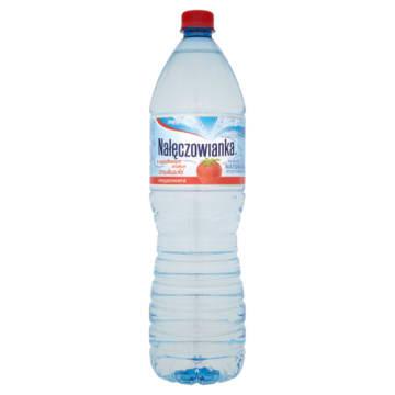 Truskawkowa woda smakowa - Nałęczowianka - na bazie naturalnej wody mineralnej