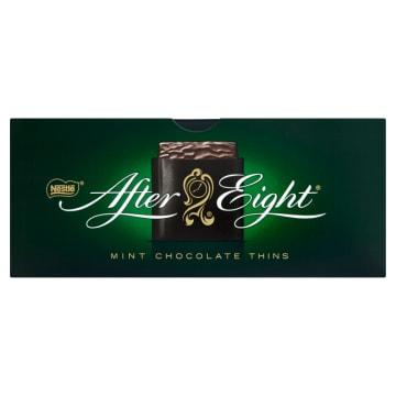 Bombonierka After Eight - Nestlé. Niezwykła kompozycja prawdziwej czekolady i delikatnej mięty.