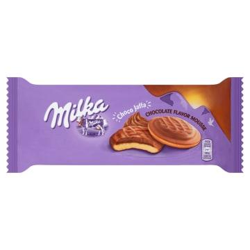 Biszkopty z pianką czekoladową - MILKA. Ciasteczka pokryte delikatną czekoladą Milka.