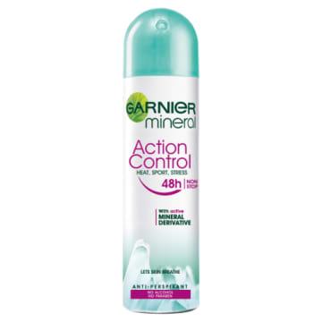 Garnier – Mineral dezodorant w aerozolu Action Control skutecznie chroni i zapewnia świeżość do 48h.