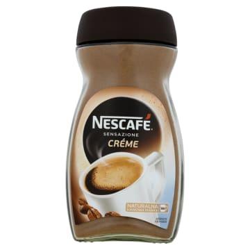 Kawa rozpuszczalna Creme Sensazione z delikatną pianką - Nescafe
