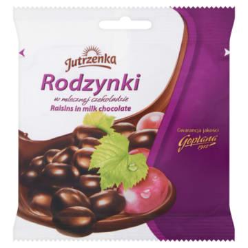 Rodzynki w czekoladzie mlecznej - Jutrzenka