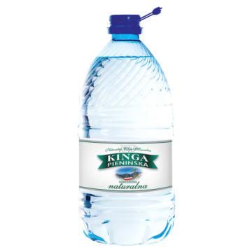 Woda mineralna niegazowana - Kinga Pienińska. To naturalna woda z podziemnych źródeł Pienin.