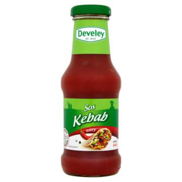 Sos Kebab ostry Develey podkreśli smak dań mięsnych, zwłaszcza kebaba.