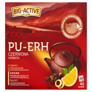 Herbata czerwona o smaku cytrynowym - Pu-Erh
