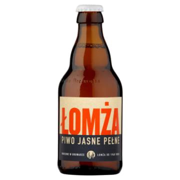 Piwo jasne pełne w butelce – Łomża 330 ml. Od lat przygotowywane wg klasycznej receptury.