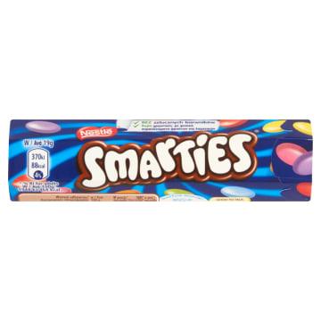 Draże Smarties - Nestle to pyszna, słodka przekąska.