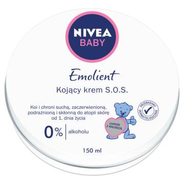 Krem S.O.S. Pure&Sensitive-Nieva Baby. Intensywnie nawilża, łagodzi odparzenia i zaczerwienienia.