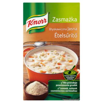 Zasmażka błyskawiczna jasna – Knorr. Nie potrzeba wiele czasu, aby nadać smak potrawie.