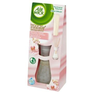 Air Wick - Pachnące patyczki jedwab i orchidea. Oryginalny odświeżacz o wyjątkowym zapachu.
