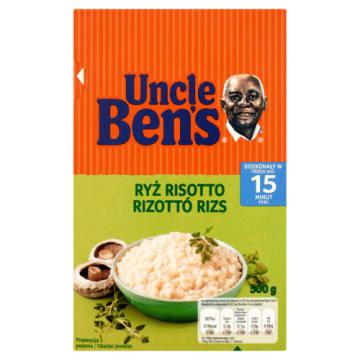 Ryż Risotto - Uncle Ben's. Popularny przysmka prosto z Włoch.