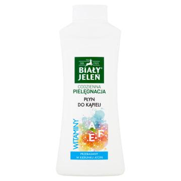 Hipoalergiczny płyn - Biały Jeleń. Doskonale myje, nawilża i pachnie.