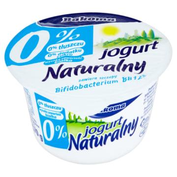 Jogurt Naturalny probiotyczny 0% - Bakoma wspiera pracę układu pokarmowego.