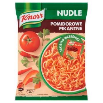 Knorr - Nudle Diabolo pomidoro. Pikantny sposób na smaczny posiłek.