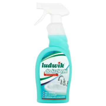 Mleczko do czyszczenia łazienki - Ludwik. Produkt do walki z wszelkimi zabrudzeniami w łazience.