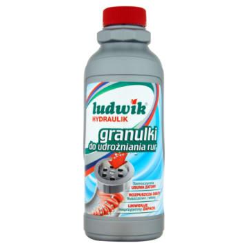 Ludwik - Hydraulik Granulki do udrażniania rur. Niezbędny element w każdym domu.