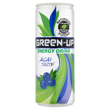 Napój energetyczny Green up Power Plus z acai - Herbapol