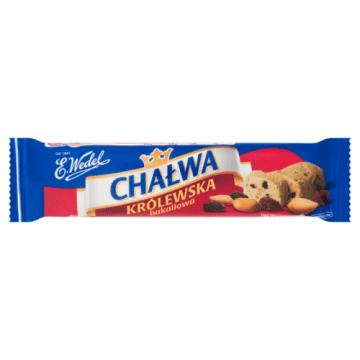Wedel -  Chałwa Królewska z bakaliami. Pyszna przekąska z dodatkiem karmelu i nasion oleistych.