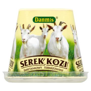 Ser kozi śmietankowy Danmis to bogate źródło białka, cynku i witamin.