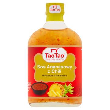 Sos chili z ananasem - Tao Tao. Nadaje się jako dodatek do różnych smakołyków.