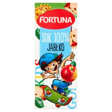 Fortuna Hot Wheels - Sok jabłkowy 100%. Gwarantuje najlepszy smak.