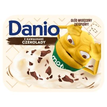 Danone Danio Ekstra - Serek czekoladowy. Szybko zabija głód.