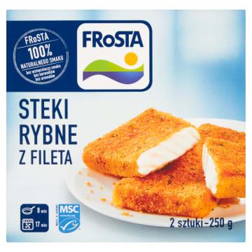 Steki rybne - Frosta. Doskonały pomysł na szybki i smaczny obiad.