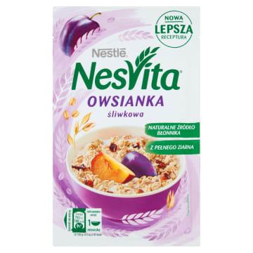 Nestle NesVita Płatki owsiane ze śliwkami to idealne śniadanie dla dbających o figurę.