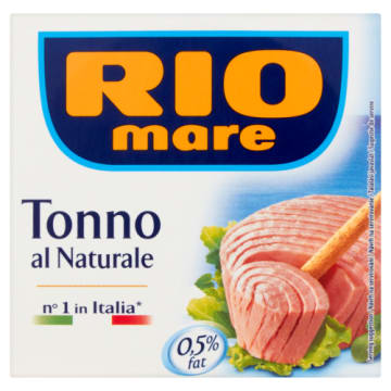 Tuńczyk w sosie własnym - Rio Mare Natura to bardzo pyszny i zdrowy produkt.