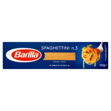 Makaron spaghettini- Barilla. To szybki i smaczny sposób na sycący obiad.