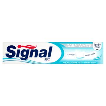 Pasta do zębów Daily White Signal Family to skuteczna ochrona zębów wzmacniająca szkliwo.