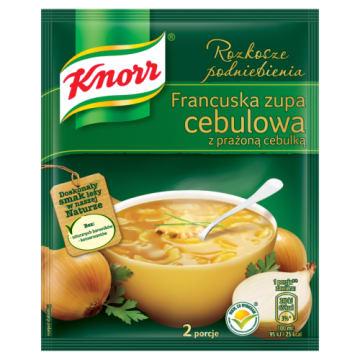 Knorr Menu ze smakiem - Francuska zupa cebulowa to pomysł na błyskawiczną przekąskę w środku zimy.