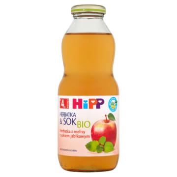 Hipp Herbatka&Sok - z melisy z sokiem jabłkowym po 6.miesiącu koi pragnienie niemowląt.