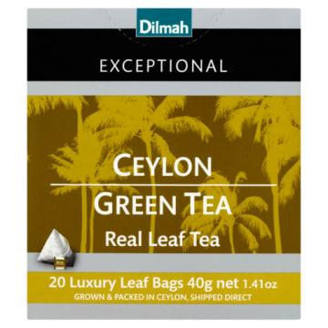 Zielona herbata Perfect Green Tea – Dilmah ma delikatny, żółty kolor i jest wyrazista w smaku.