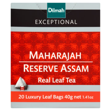 Herbata czarna Maharajah Reserve Assam 20 torebek - Dilmah Excepcional