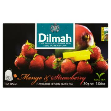 Herbata mango- truskawka, 20 torebek - Dilmah